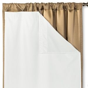 Blackout Liner Panel For Curtains